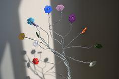 Árvore de botões Arteiras de Coração - www.arteirasdecoracao.com.br