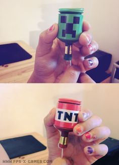 Minecraft Creeper TNT Party Popper covers