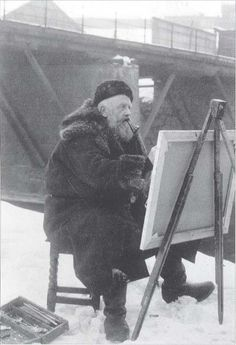 Frits Thaulow (1847-1906) Norwegian painter