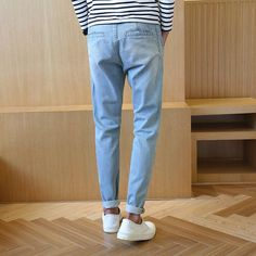 49.32$  Buy here - http://ai5q2.worlditems.win/all/product.php?id=32747574100 - 2016 new Fashion Autumn Winter cotton jeans Harlan pants male comfortable  washed mens jeans trousers manufacturers selling