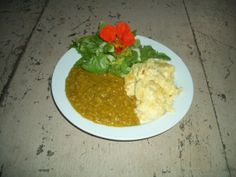 Although not made from homegrown ingredients, our dahl is so popular with the students, I thought I would post the recipe here. Also, lentils keep very well for a long time, providing it is. Dahl, Lentils, Guacamole, Mexican, Chicken, Ethnic Recipes, Food, Garden, Garten