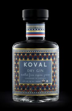 Koval Gin packaging designed by Dando Projects.