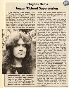 @glennhughes Helps Rolling Stones Jagger / Richards Supersession ~ March 1975 via #CircusMagazine