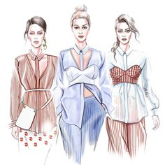 Fashion Illustration Speed Painting with Ink - Drawing On Demand Fashion Design Sketchbook, Fashion Design Drawings, Fashion Sketches, Fashion Drawing Dresses, Fashion Illustration Dresses, Fashion Illustrations, Design Illustrations, Dress Fashion, Arte Fashion