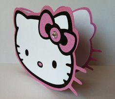 Hello Kitty Invitations Thank you Notes