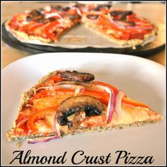 Almond Crust Pizza Gluten-free Grain-Free