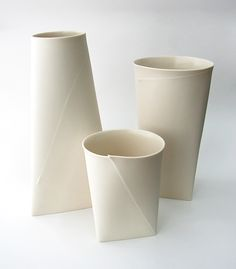 Fold A Vase  (for those times when you just have to get the flowers home from Church or something) Perfect!!