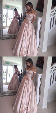 prom dresses, elegant off shoulder prom party dresses, cheap pink prom dresses 2017