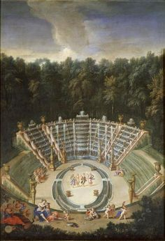 The Fountains of Versailles in the Time of Louis XIV: Salle de Bal ou Bosquet des Rocailes (Cotelle)