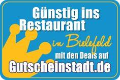 Mit Glück günstig ins #Restaurant in #Bielefeld mit #Gutscheinstadt