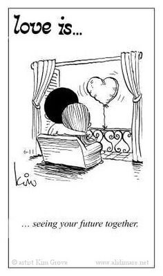 Love is. seeing your future together. - Love is. Love Is Cartoon, Love Is Comic, What Is Love, Our Love, I Love You, Best Love Quotes, Love Notes, Loving Someone, Love And Marriage