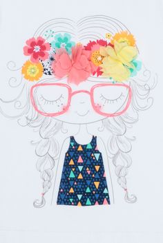 cookie inspiration: Milkshake - Applique Tee - Girl