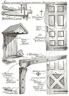 Pin by przemek tabaka on eric sloane Antique Tools, Old Tools, Diy Wood Projects, Wood Crafts, Woodworking Plans, Woodworking Projects, Rustic Gallery Wall, Farm Tools, George Nelson