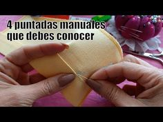 4 puntadas a mano que debes conocer para confeccionar o reparar tu ropa - 4 hand stitches that you must know to make or repair your clothes Sewing Hacks, Sewing Tutorials, Free Sewing, Hand Sewing, Sewing Courses, Popular Pins, Hand Stitching, Save Yourself, Refashion