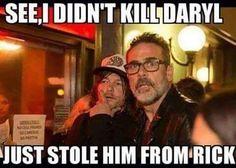 #Negan #Daryl Sorry Negan, you'll never break the that bromance!