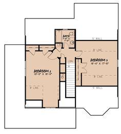 Craftsman Plan: 1,905 Square Feet, 3 Bedrooms, 2 Bathrooms - 8318-00130 Rustic House Plans, Cottage Floor Plans, Lake House Plans, Craftsman Style House Plans, Cottage House Plans, Best House Plans, Dream House Plans, Farmhouse Plans, Small House Plans
