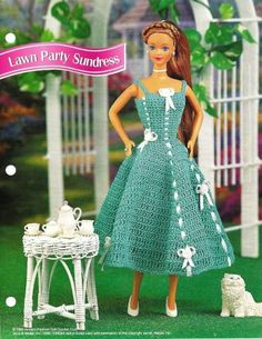 crochet patterns for barbie - Google Search
