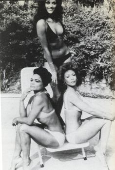 Eartha Kitt, Jayne Kennedy and Freda Payne