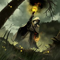 Torch Bearer by PointLineArea on DeviantArt