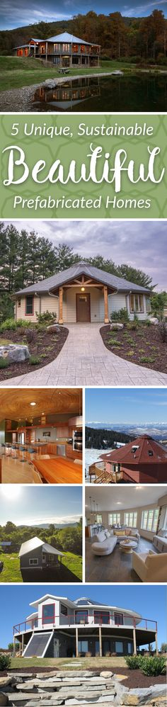 Check out five of our beautiful  and sustainable prefabricated homes!