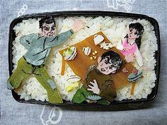 Kyojin no Hoshi bento