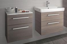Sehraná dvojka - umyvadlová a nízká závěsná skříňka Filing Cabinet, Vanity, Bathroom, Storage, Furniture, Home Decor, Dressing Tables, Washroom, Purse Storage