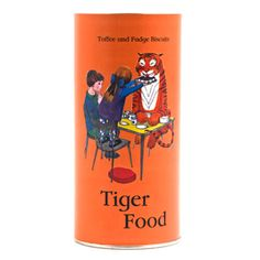 A tin of Tiger Food just in case the tiger should come to tea! (might need to get a couple just in case)