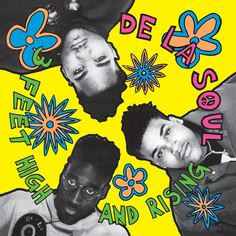 3 Feet High And Rising - De La Soul,  (1989)
