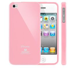 SQ1 [Mercury] Slim Fit Flexible TPU Case for Apple iPhone 4 (Pink) by Square 1, http://www.amazon.com/dp/B00A70MOIO/ref=cm_sw_r_pi_dp_De5vrb1YCF122