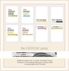 free journaling cards.