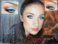 ** Lód i ogień ** Makeup Art, Beauty Makeup, Hair Makeup, Makeup Step By Step, Creative Makeup, Makeup Videos, Makeup Inspiration, Makeup Looks, Halloween Face Makeup