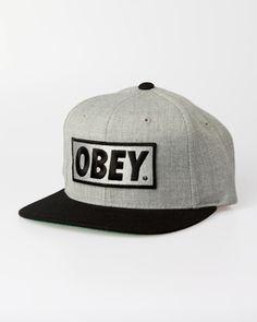 Obey Original Snap Back Cap