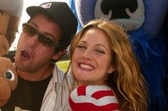 1998: Adam Sandler and Drew Barrymore i always wanted them to be together in real life so theyre going in my couples board. F' it!