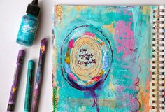 The Turquoise Paintbrush