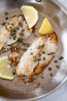 """I would place """"How to Quickly Cook Fish Fillets"""" right up there with other essential cooking skills like boiling eggs and cooking a pot of rice. If you can cook a fish fillet, you can have a healthy, easy dinner on the table in 10 minutes. Or less! It's such a simple and versatile weeknight meal. Here's how to do it."""