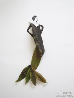 Malaysian illustrator Tang Chiew Ling uses flowers and leaves in his fashion sketches to complement it in a beautiful way. Flower Fashion, Fashion Art, Fashion Design, Kuala Lumpur, Colossal Art, Artist Profile, Leaf Art, Patterns In Nature, Fashion Sketches