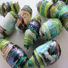 CAROLYN SAXBY mixed media TEXTILE ART: Textile Art