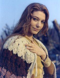 Natalya Bondarchuk during the shooting of Solaris (1972)