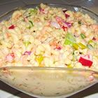 This is -BY FAR- the BEST macaroni salad recipe I have found. Hawaiian Potato Salad Recipe, Best Macaroni Salad, Macaroni Salads, Soup And Salad, Pasta Salad, Cobb Salad, Potato Recipes, Pasta Dishes, Salad Recipes