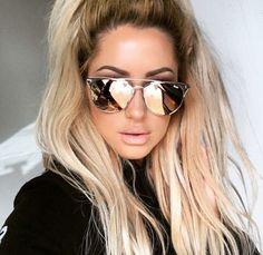Тенденция: зеркальные солнцезащитные очки 8