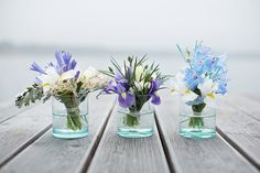 blue flowers wedding #1001hochzeiten