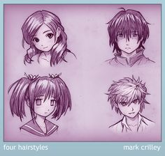 Mark Crilley - Hairstyling