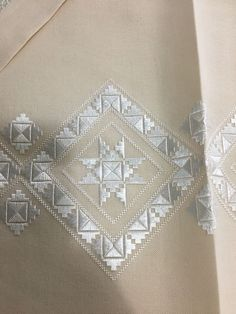 Eleni Kavvadia Drakopoulou's media content and analytics Hardanger Embroidery, Learn Embroidery, Embroidery Fashion, Cross Stitch Embroidery, Embroidery Patterns, Hand Embroidery, Crochet Patterns, Needlepoint Stitches, Needlework