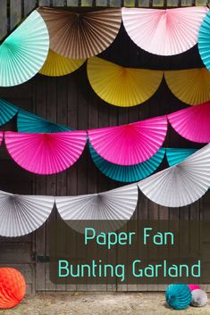 Are you interested in our paper fan bunting garland? With our paper garland wedding decoration you need look no further. Are you interested in our paper fan bunting garland? With our paper garland wedding decoration you need look no further. Diy And Crafts, Crafts For Kids, Paper Crafts, Bunting Garland, Party Garland, Buntings, Paper Bunting, Bunting Ideas, Tissue Paper Garlands