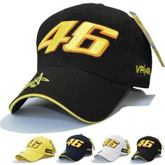 0d965287 Star Signature rossi #Cap letter Printed #sports Mens Caps, Valentino  Rossi, Hat