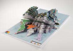 Paper Project by Thomas Finch, via Behance