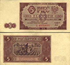 5 złotych najstarsze