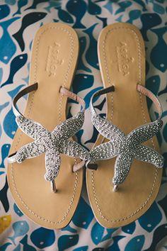 destination wedding shoes USVI Destination Wedding on St. John