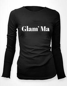GLAM' MA - women's long sleeve tee