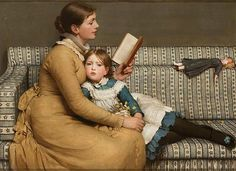 George Dunlop Leslie - Alice in Wonderland, 1879 - England